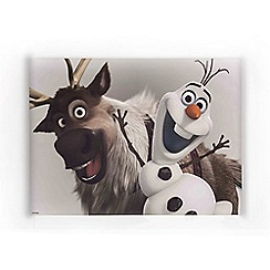Disney - Frozen Olaf and Sven Printed Canvas Printed Canvas