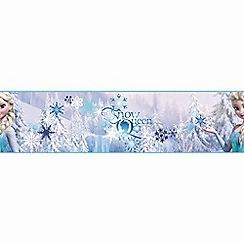 Disney - White Frozen Snowqueen Border