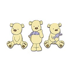 Disney - Cream Bears Foam Wall Elements 3pcs