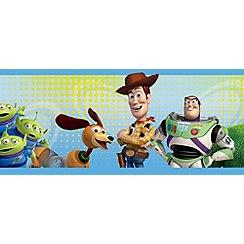 Disney - Multicoloured Toy Story Wallpaper