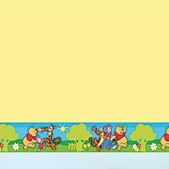 Disney - Winnie the Pooh Small Green Border Roll