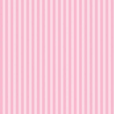 Graham & Brown Kids Pink Classic Stripe Blossom Wallpaper ...