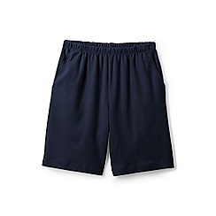 Lands' End - Blue Women's Regular Sport Knit Shorts