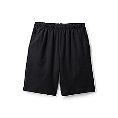 Lands' End - Black Plus Sport Knit Shorts