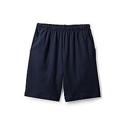 Lands' End - Blue Plus Sport Knit Shorts