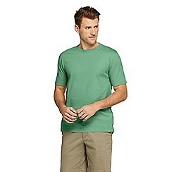 Lands' End - Green Short Sleeve Super T T-Shirt