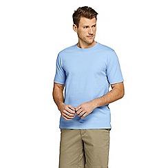 Lands' End - Blue Short Sleeve Super T T-Shirt