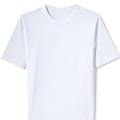 Lands' End - White short sleeved super t-shirt