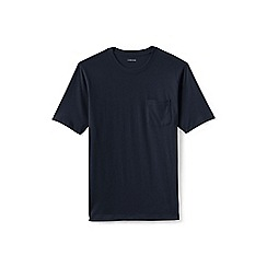 Lands' End - Blue short sleeve super-t with pocket