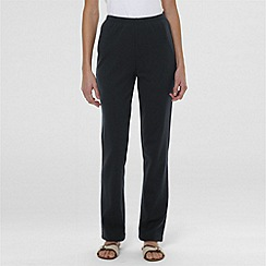 Lands' End - Grey cotton jersey trousers