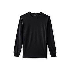 Lands' End - Black tall long sleeved super t-shirt