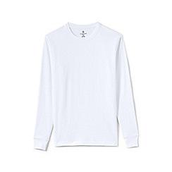 Lands' End - White tall long sleeved super t-shirt