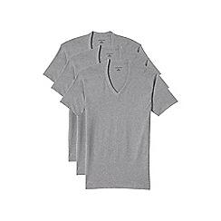 Lands' End - 3 pack grey v-neck vest