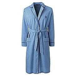 Lands' End - Blue cotton dressing gown