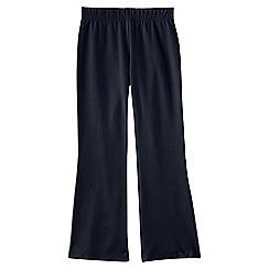 Lands' End - Blue girls' flared yoga pants