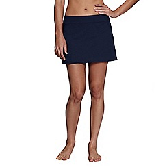Lands' End Canvas - Blue tummy control swim mini