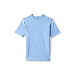 Lands' End - Blue Short Sleeve Tailored Fit Super-T T-shirts
