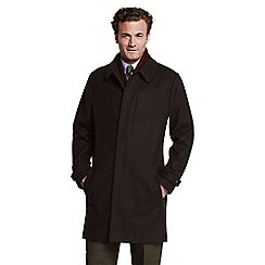 Lands' End - Brown wool topcoat