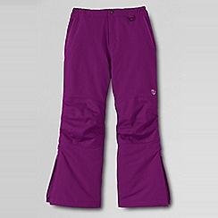 Lands' End - Girls' purple squall ski pants