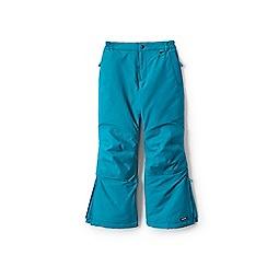 Lands' End - Girls' blue squall ski pants