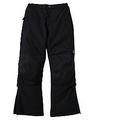 Lands' End - Black little boys' squall ski pants