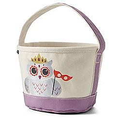 Lands' End - White halloween bucket bag