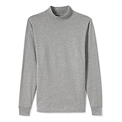 Lands' End - Grey tall  super tee polo neck