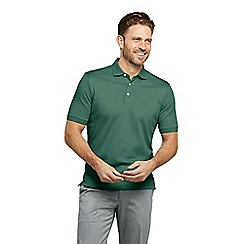 Lands' End - Green Traditional Fit Supima Polo