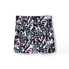 Lands' End - Multi men's patterned 6˝ swim shorts