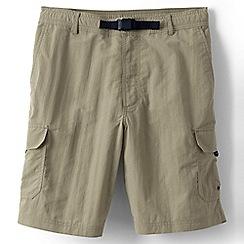 Lands' End - Beige shakedry cargo swim shorts