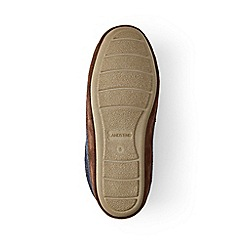 Lands' End - Grey fleece clog slippers