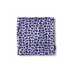 Lands' End - Girls' purple printed thermacheck-200 fleece neck warmer