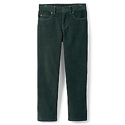 Lands' End - Green toddler boys' cord jeans