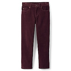 Lands' End - Red boys' cord jeans