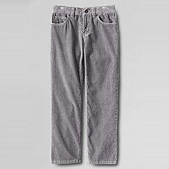 Lands' End - Grey boys' cord jeans