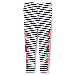 Lands' End - Multicoloured girls' floral ankle length leggings