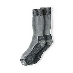 Lands' End - Grey snow pack boot socks