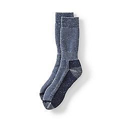 Lands' End - Blue snow pack boot socks