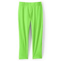Lands' End - Green girls' cropped leggings