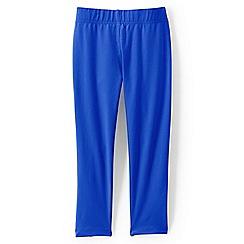 Lands' End - Bright blue girls' cropped leggings