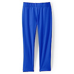 Lands' End - Bright blue girls' cropped leggings