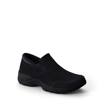 Lands' End - Black regular everyday mocs