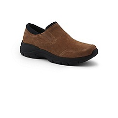 Lands' End - Beige wide everyday mocs trainers
