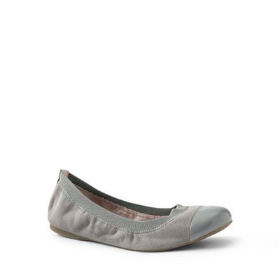 Womens Regular Bungee Ballets - 4.5 - Grey Lands End