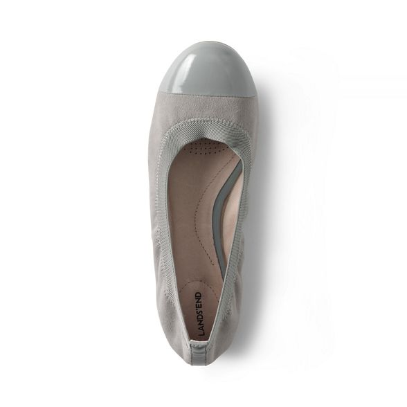 Grey pumps eliza ballet Lands' wide End gwHX88q5