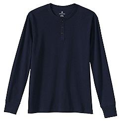Lands' End - Blue men's Henley pyjama t-shirt