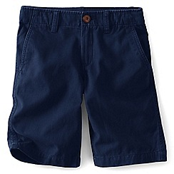 Lands' End - Boys' blue cadet shorts
