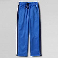Lands' End - Blue little boys' tricot trousers