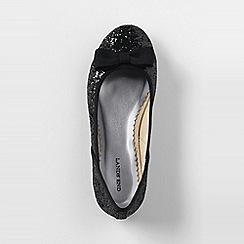 Lands' End - Black classic flat ballet shoes