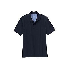 Lands' End - Blue men's short sleeve original pique polo shirt